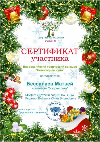 картинки сертификат участника елки главы негритят дрова