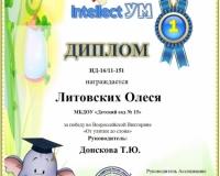 Литовских Олеся1
