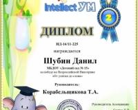 Шубин Данил1