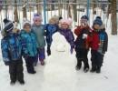 Весёлые зимние деньки в детском саду