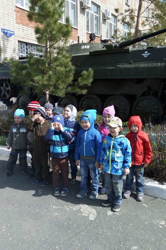 Экскурсия в музей военной техники