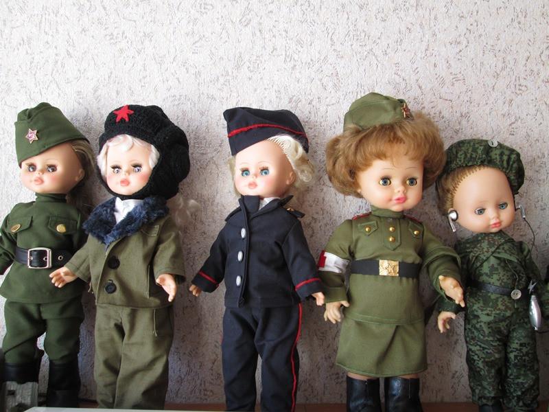 Конкурс «Кукла в военной форме»