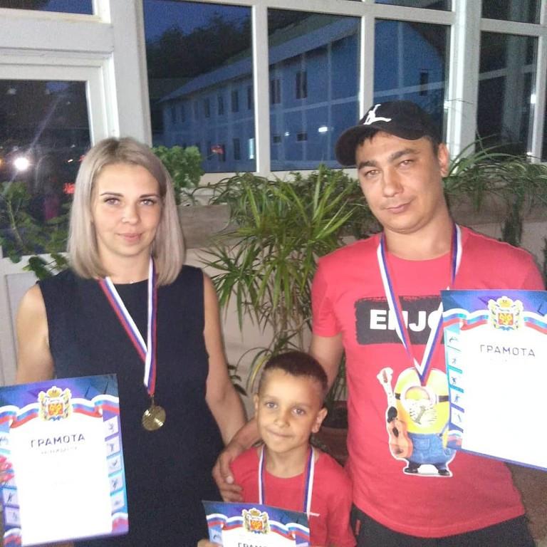 Семья Латышовых самая спортивная!