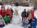 Конкурс «Самый лучший снеговик»